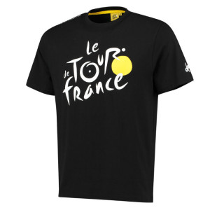Triko Tour de France černé 4