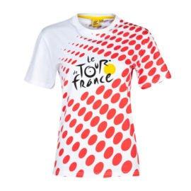 Triko Tour de France dětské puntíkované
