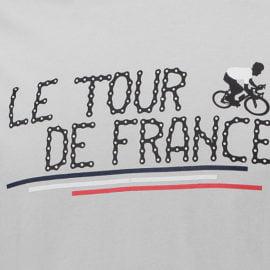 Triko Tour de France šedé 2