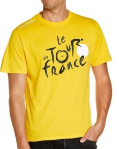 Triko Tour de France žluté 2