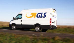 GLS dodávka