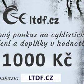 Dárkový poukaz na cyklistické oblečení v hodnotě 1000 Kč (náhled)