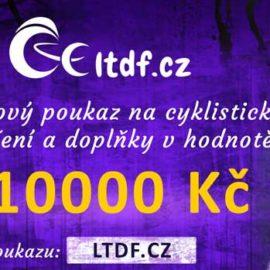 Dárkový poukaz na cyklistické oblečení v hodnotě 10000 Kč (náhled)
