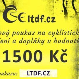 Dárkový poukaz na cyklistické oblečení v hodnotě 1500 Kč (náhled)