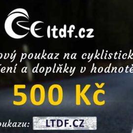 Dárkový poukaz na cyklistické oblečení v hodnotě 500 Kč (náhled)