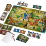 Desková hra Pélotone – hrací plán