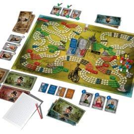 Desková hra Pélotone - hrací plán