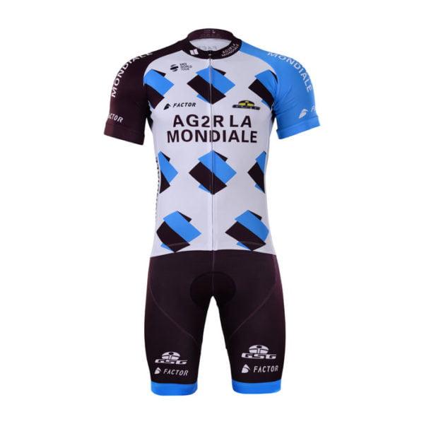 Cyklistický dres a kalhoty AG2R La Mondiale 2017