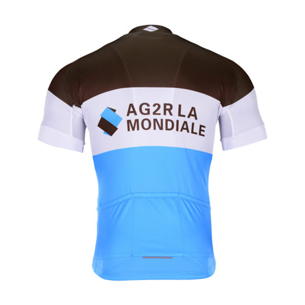 Cyklodres AG2R La Mondiale 2019  zadní strana