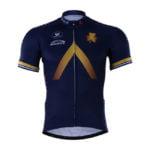 Cyklistický dres Aqua Blue 2017