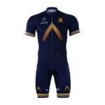 Cyklistický dres a kalhoty Aqua Blue 2017
