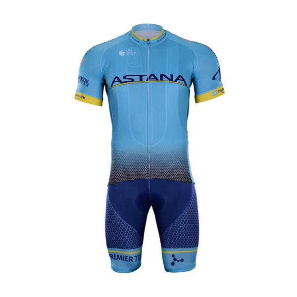 Cyklistický dres a kalhoty Astana 2019