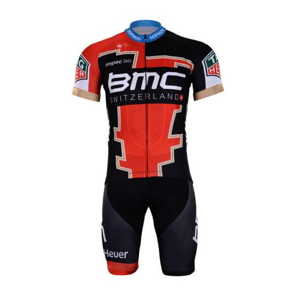 Cyklistický dres a kalhoty BMC 2018