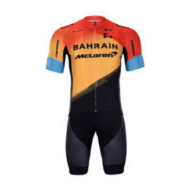 Cyklistický dres a kalhoty Bahrain McLaren 2020