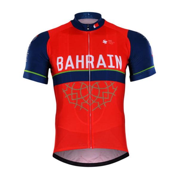 Cyklistický dres Bahrain-Merida 2017