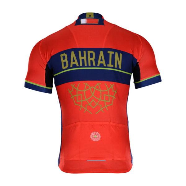 Cyklodres Bahrain-Merida 2018 zadní strana