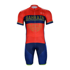 Cyklistický dres a kalhoty Bahrain-Merida 2018