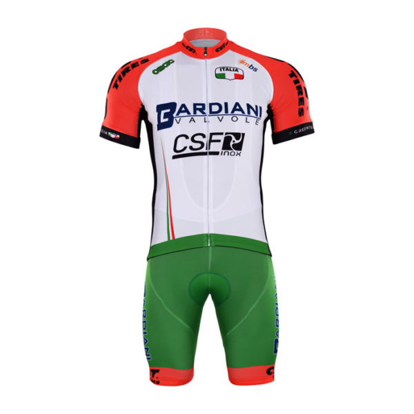 Cyklistický dres a kalhoty Bardiani CSF 2017