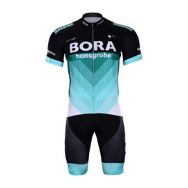 Cyklistický dres a kalhoty Bora-Hansgrohe 2018