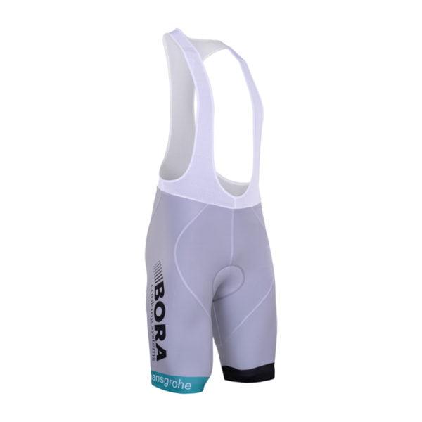 Cyklistické kalhoty Bora-Hansgrohe 2017 UCI bílý