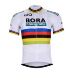 Cyklistický dres Bora-Hansgrohe 2018 UCI černý