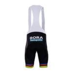 Cyklokalhoty Bora-Hansgrohe 2018 UCI černý zadní strana