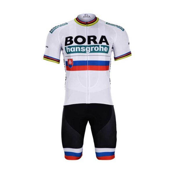 Cyklistický dres a kalhoty Bora-Hansgrohe 2019 UCI Sagan