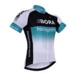 Cyklistický dres Bora-Hansgrohe 2017 bílý
