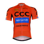 Cyklistický dres CCC Sprandi Polkowice 2017