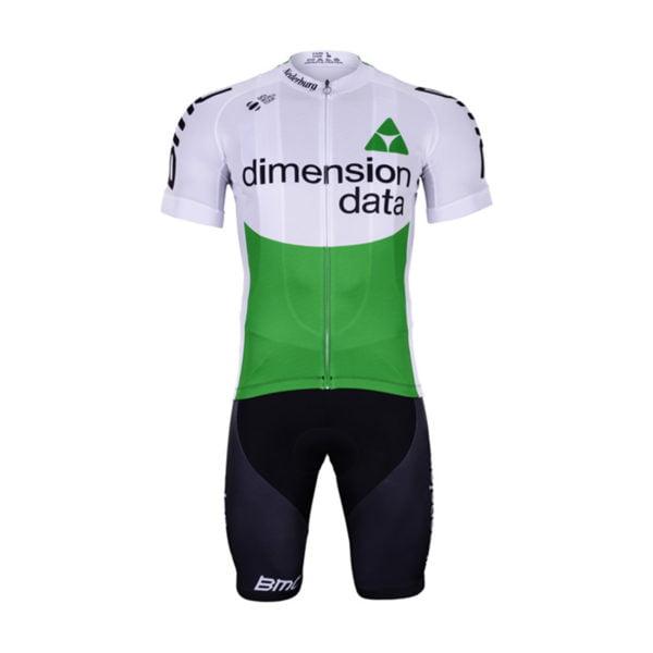 Cyklistický dres a kalhoty Dimension Data 2019