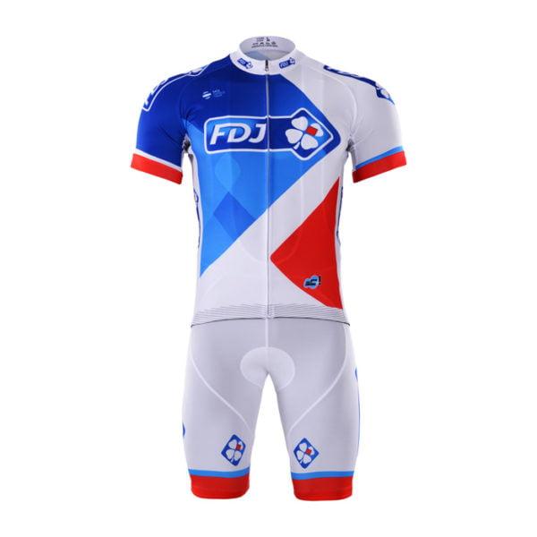 Cyklistický dres a kalhoty FDJ 2017