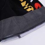 Cyklistické kalhoty Lotto-Jumbo 2020 Visma lem stehna ohrnutý