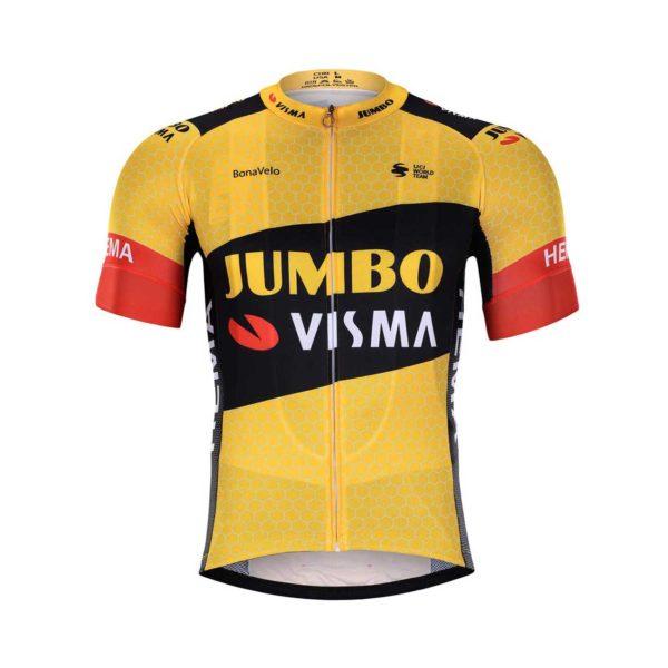 Cyklistický dres Lotto-Jumbo 2020 Visma