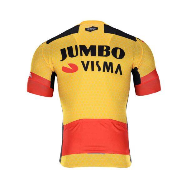 Cyklodres Lotto-Jumbo 2020 Visma zadní strana