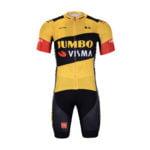 Cyklistický dres a kalhoty Lotto-Jumbo 2020 Visma