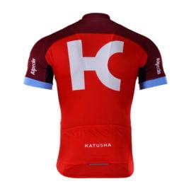 Cyklodres Katusha-Alpecin 2017 zadní strana