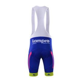 Cyklokalhoty Lampre 2017 zadní strana