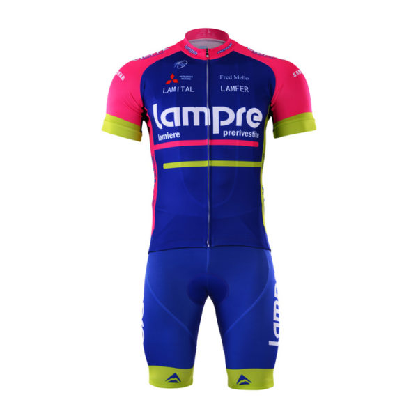 Cyklistický dres a kalhoty Lampre 2017