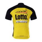 Cyklodres Lotto-Jumbo 2017 zadní strana