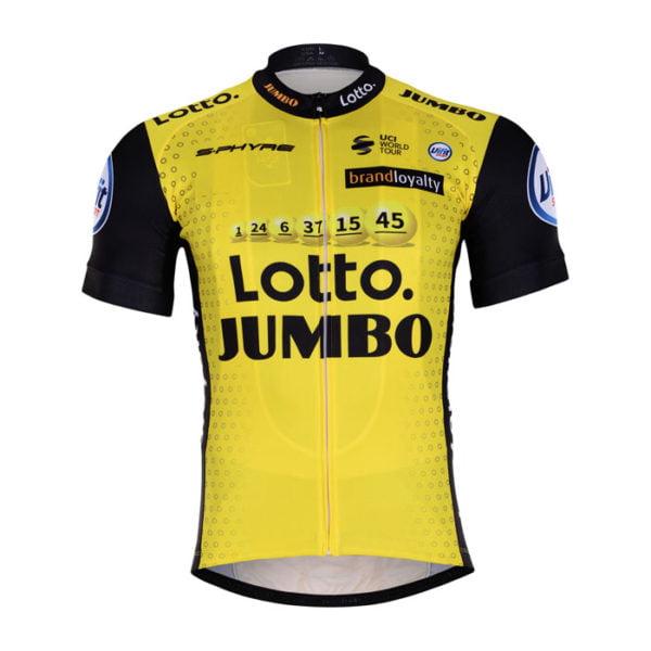 Cyklistický dres Lotto-Jumbo 2018