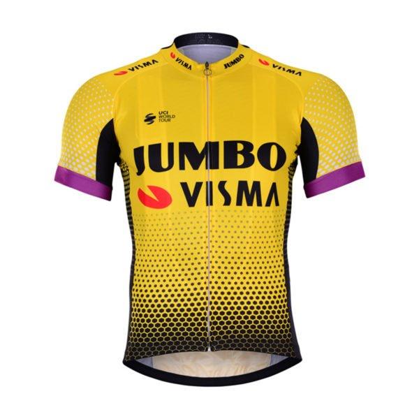 Cyklistický dres Lotto-Jumbo 2019 Visma