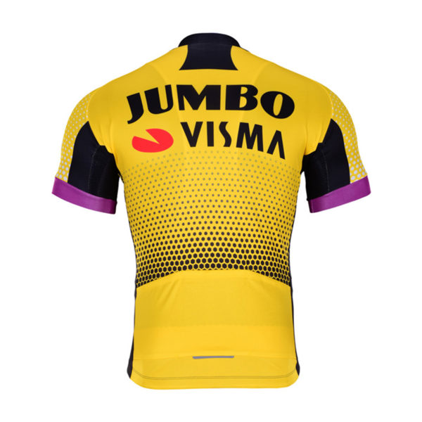 Cyklodres Lotto-Jumbo 2019 Visma zadní strana