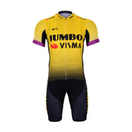Cyklistický dres a kalhoty Lotto-Jumbo 2019 Visma