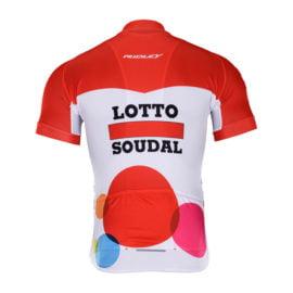 Cyklodres Lotto-Soudal 2018 zadní strana