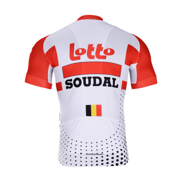 Cyklodres Lotto-Soudal 2019 zadní strana