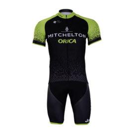 Cyklistický dres a kalhoty Mitchelton-Scott 2018
