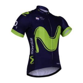 Cyklistický dres Movistar 2017