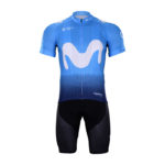 Cyklistický dres a kalhoty Movistar 2018