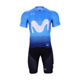 Cyklistický dres a kalhoty Movistar 2019
