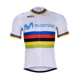 Cyklistický dres Movistar 2019 UCI